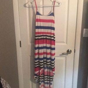 Dresses & Skirts - High-low striped dress!
